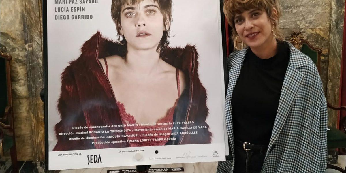 María León en el Teatro Principal de Zaragoza