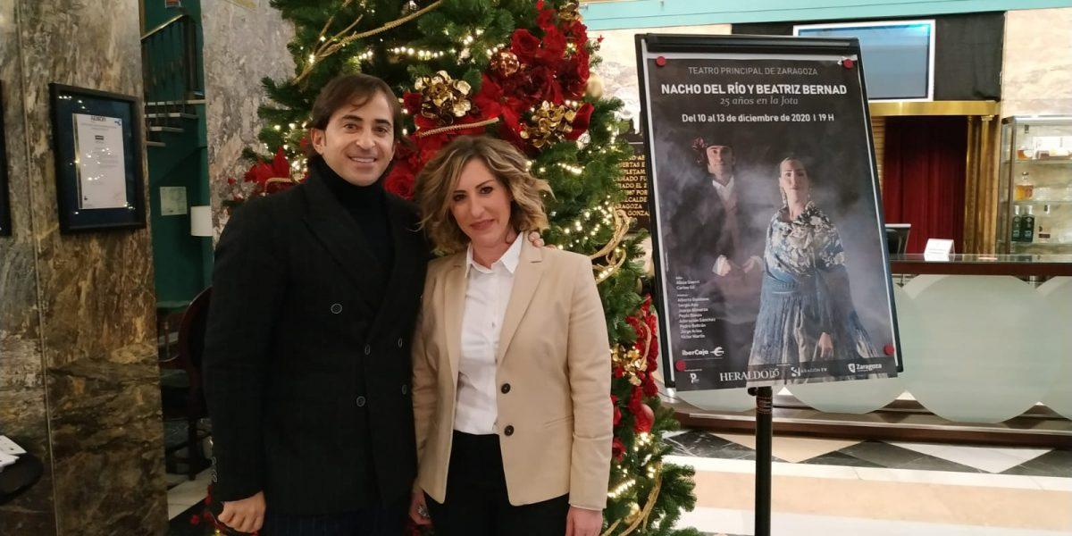 Nacho del Río y Beatriz Bernad en el Teatro Principal